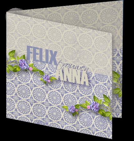 Trouwkaart Anna Felix