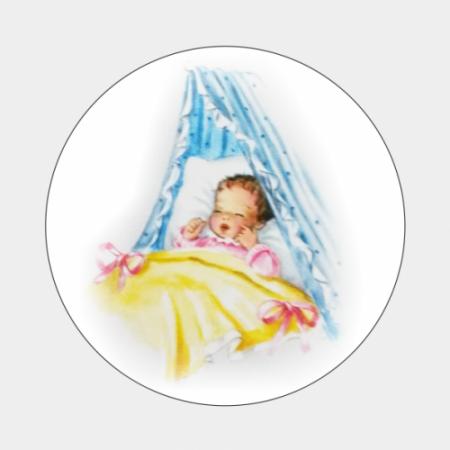 Sluitzegel Retro baby