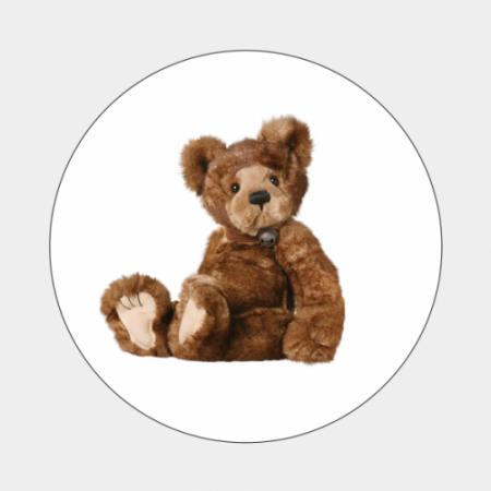tzegel Retro bruine teddybeer