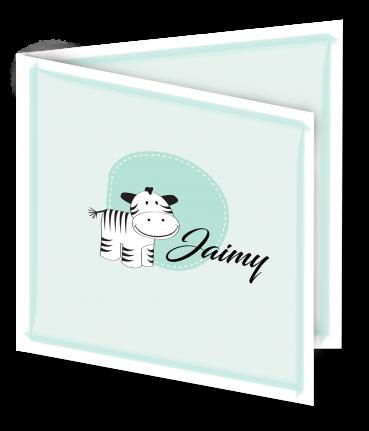 Geboortekaart Jaimy 3D