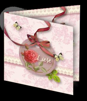 Geboortekaart Liese-3D